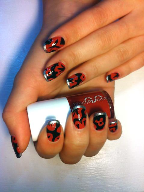 Peter Martin nail art